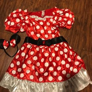 Women's NWT M Minnie Mouse costume